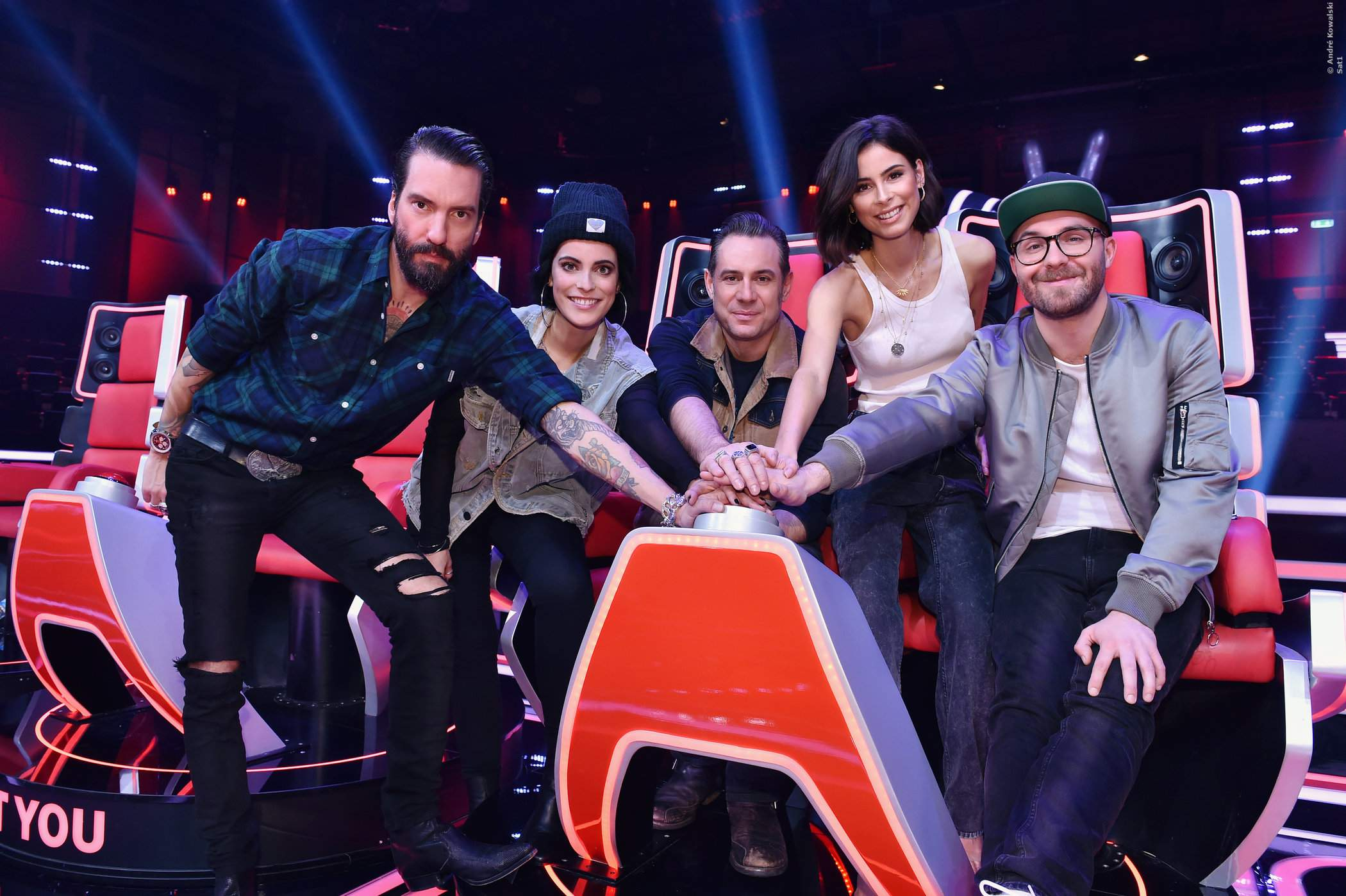 Die Coaches von The Voice Kids 2019