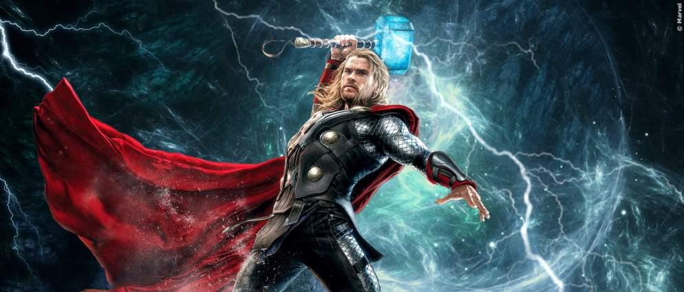 """""""Thor 4"""": Erstes Bild von Christian Bale als MCU-Fiesling"""