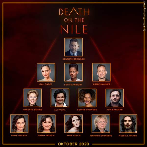 Die Stars aus Tod Auf Dem Nil