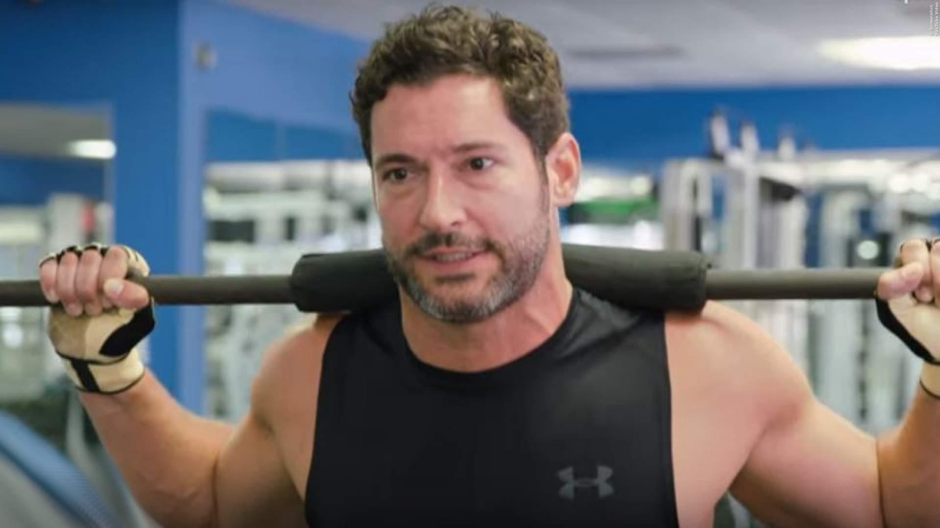 LUCIFER: So hart trainiert der Teufel im Gym für die neue Staffel