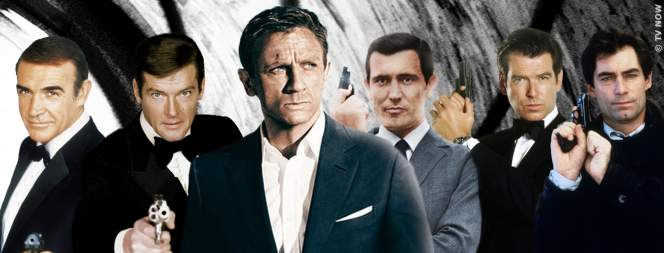 TV NOW zeigt im Juni 22 James Bond Filme