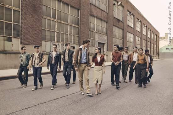 Das erste Foto aus West Side Story