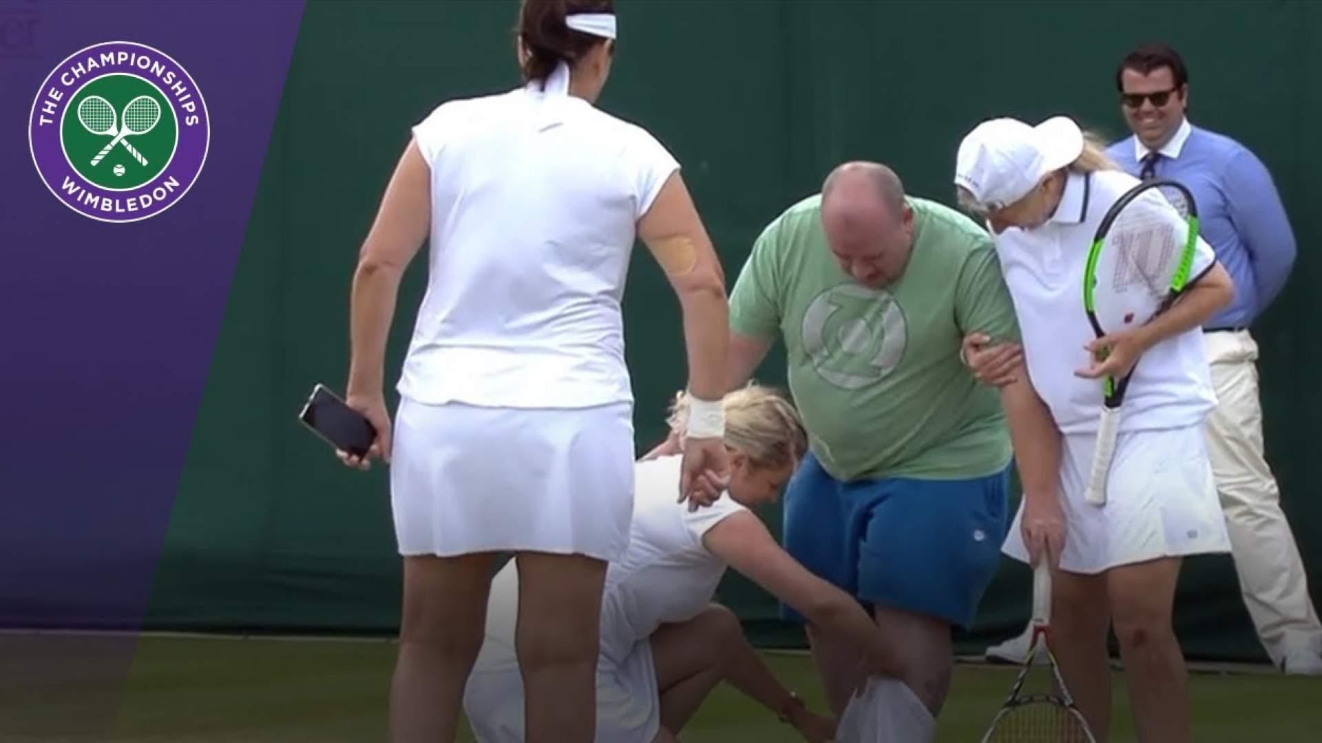 VIDEO: Die lustigsten Momente in Wimbledon - Tennis kann echt saulustig sein