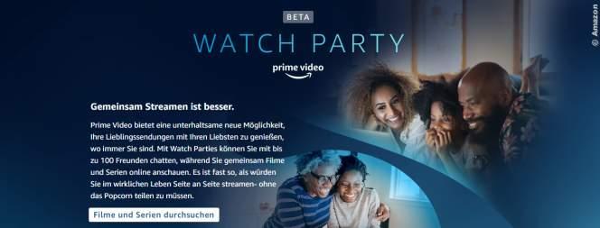 Watch Party: So guckt ihr mit Freunden kostenlos