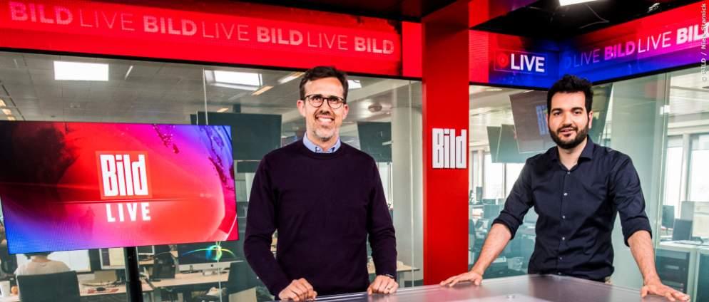 BILD TV-Sender startet am 22. August 2021