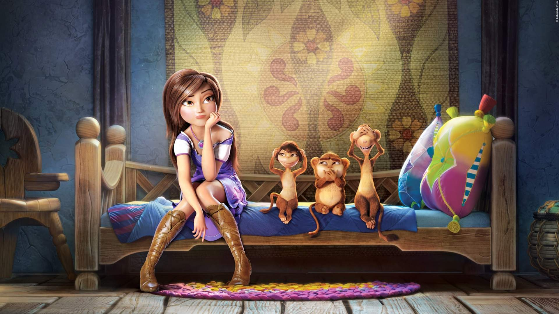 """KINO-TIPP: Trailer zum Animationsspaß """"Clara Und Der Magische Drache"""""""