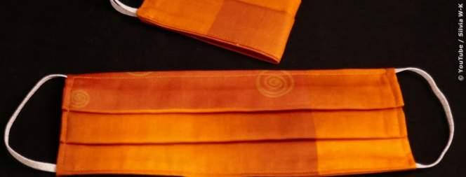 DIY: Corona-Mundschutz selber basteln