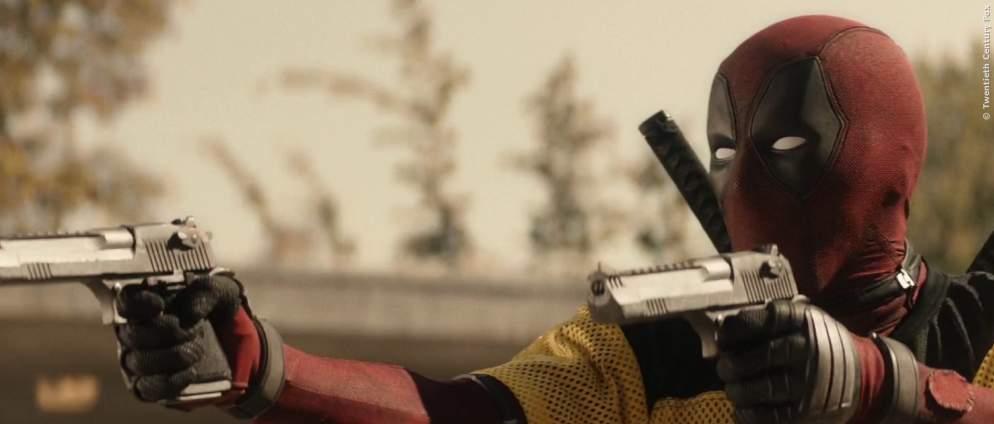 Deadpool Video zeigt den ersten Auftritt des Helden im MCU