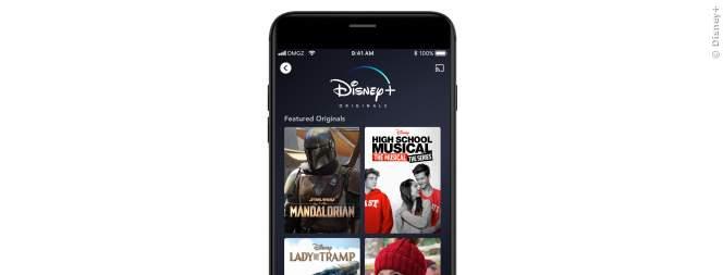 Disney Plus - Alle Geräte auf denen die App läuft.