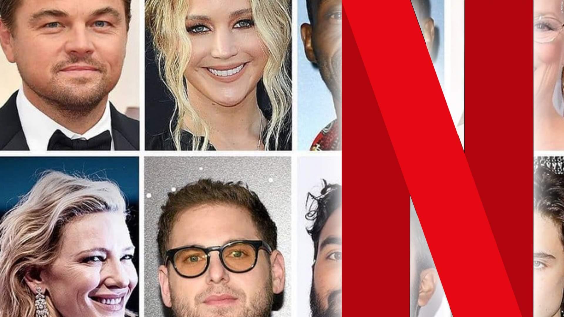 Neuer Netflix-Film mit Mega-Stars: Leonardo DiCaprio ist nicht mal der bekannteste Name