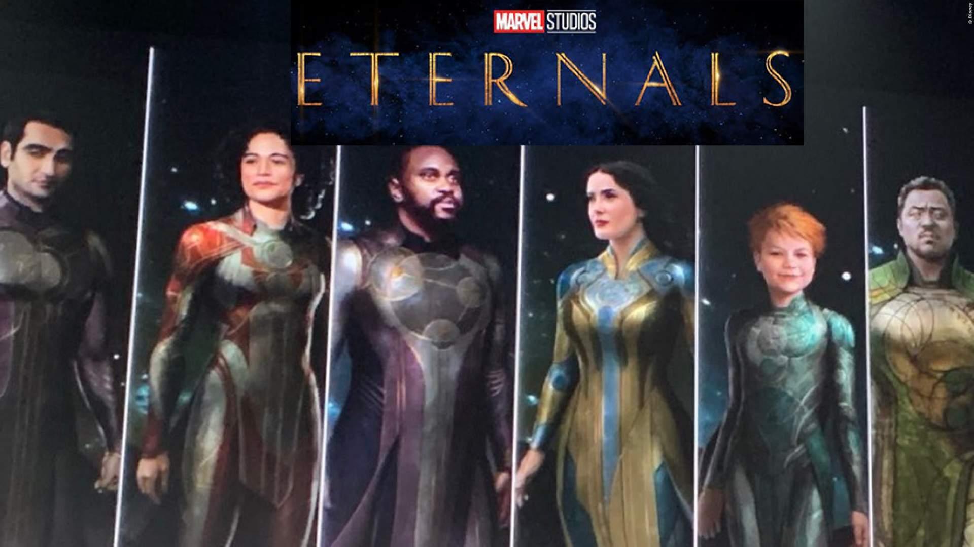 Marvel So Verbindet Das Mcu The Eternals Mit Den Avengers Film Tv