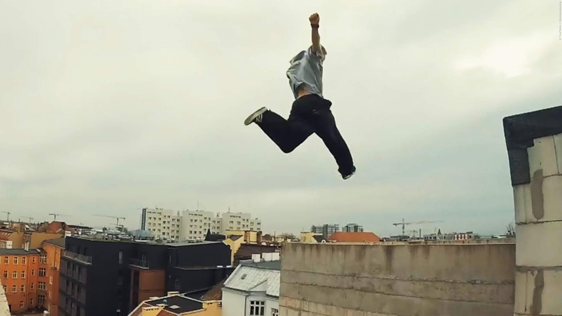 EXTREM-SPORT: Coole Parkour und Freerunning-Moves in Action