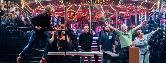 TV-Show: Promis kontrollieren ihren Herzschlag