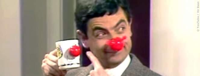 Mr Bean auf dem Polizeirevier