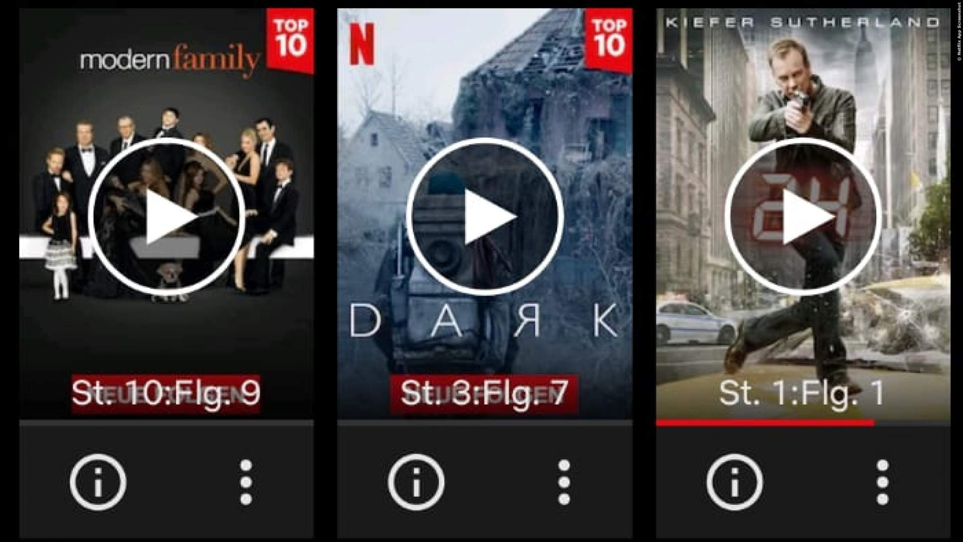 Screenshot Netflix App Android