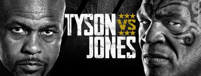 Mike Tyson gegen Roy Jones Jr.: der Showkampf