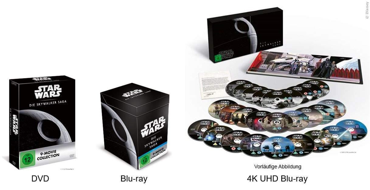 Star Wars Sammelboxen Deluxe