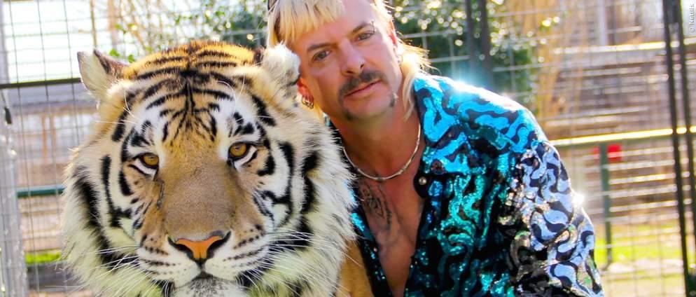 """""""Tiger King"""" hiner der Kamera - Neue Doku"""