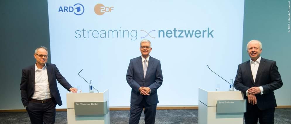 ARD und ZDF: Bald gemeinsames Streaming-Netzwerk