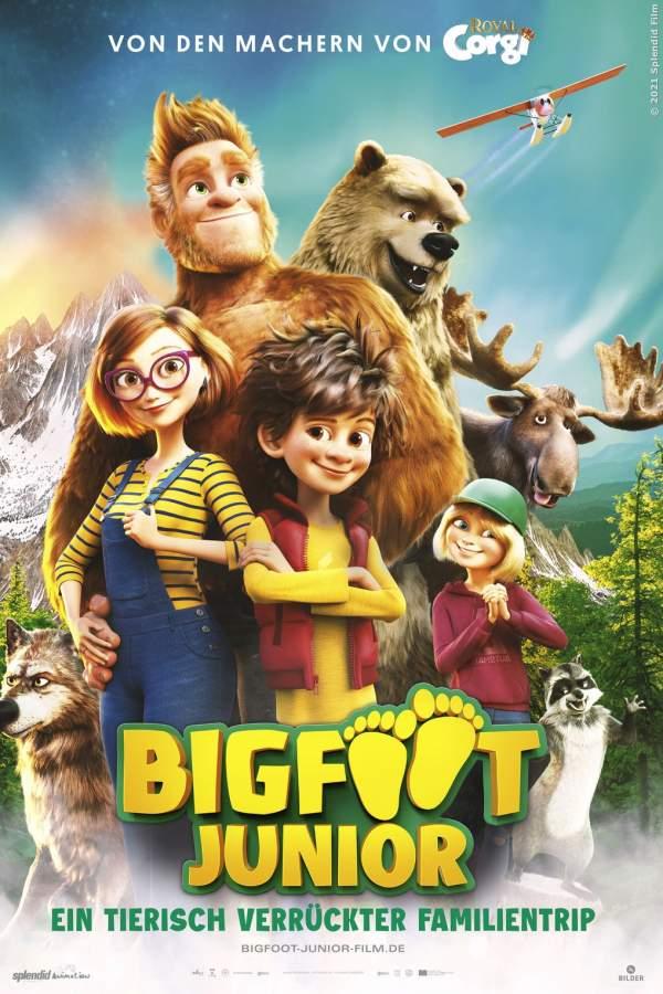 Bigfoot Junior - Ein tierisch verrückter Familientrip - Film 2020