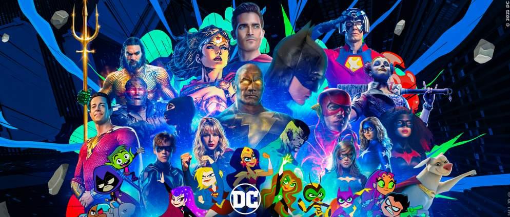 DC Fandome 2021 - Plakat