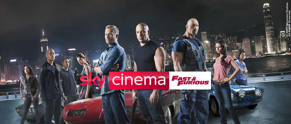 "Alle acht ""Fast And Furious""-Filme bei Sky streamen"