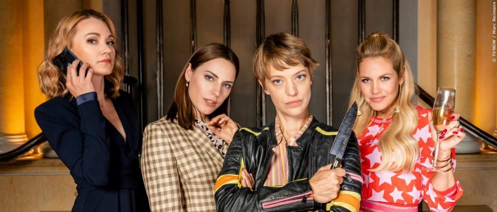 Herzogpark: Neue TV-Serie mit Heike Makatsch und Felicitas Woll
