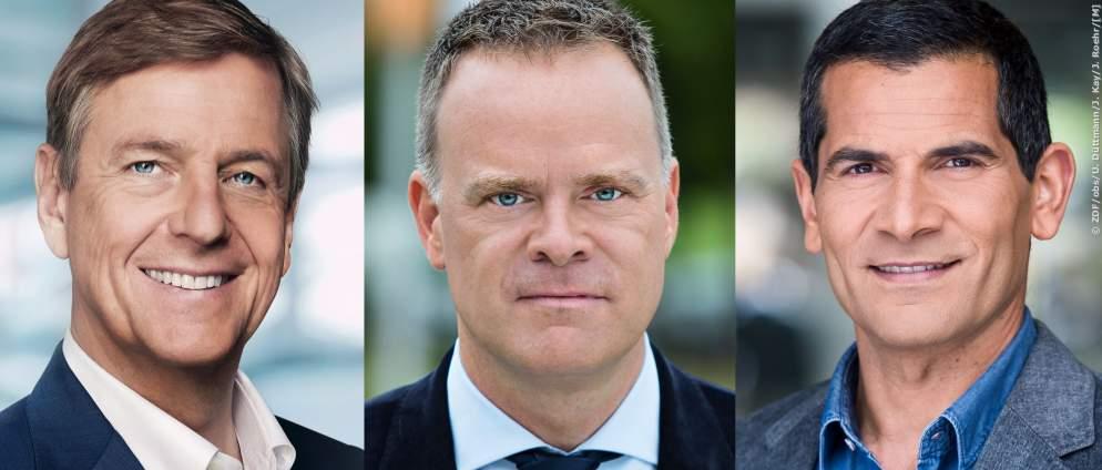 """Christian Sievers folgt auf Claus Kleber im ZDF-""""heute journal"""""""