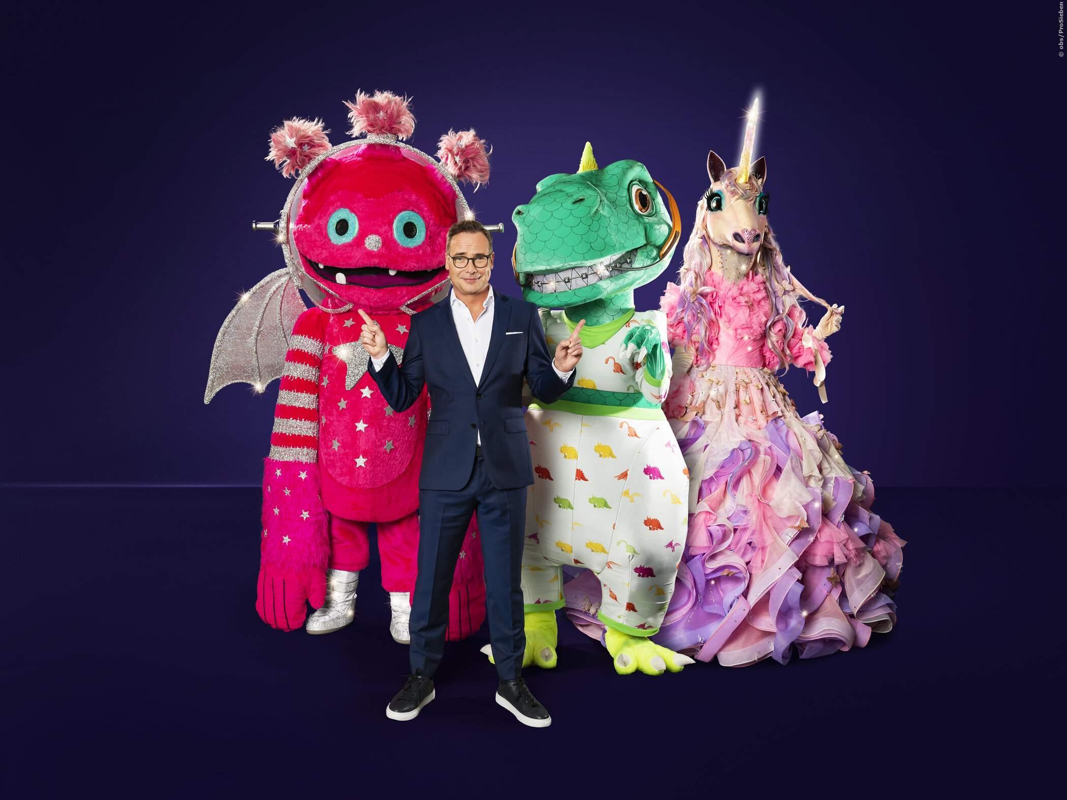 Monstronaut, Dinosaurier und Einhorn mit Matthias Opdenhövel