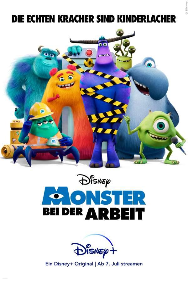 Monster bei der Arbeit - Serie 2021