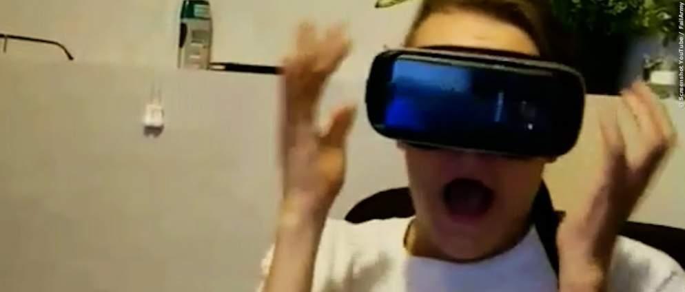 Die lustigsten Fails mit VR-Brillen