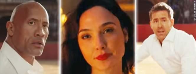 """Neuer Trailer zu """"Red Notice"""""""