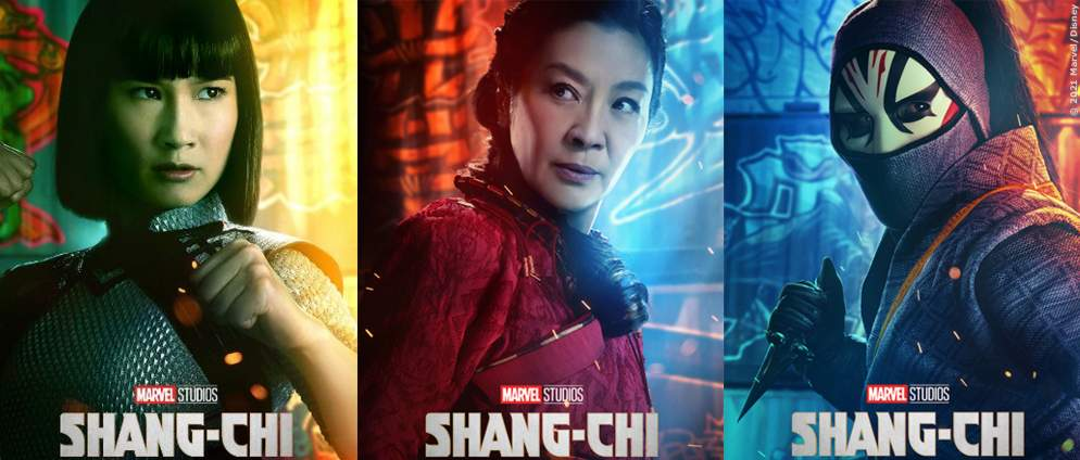 """Neue Charakter-Plakate zu """"Shang-Chi and the Legend of the Ten Rings"""""""