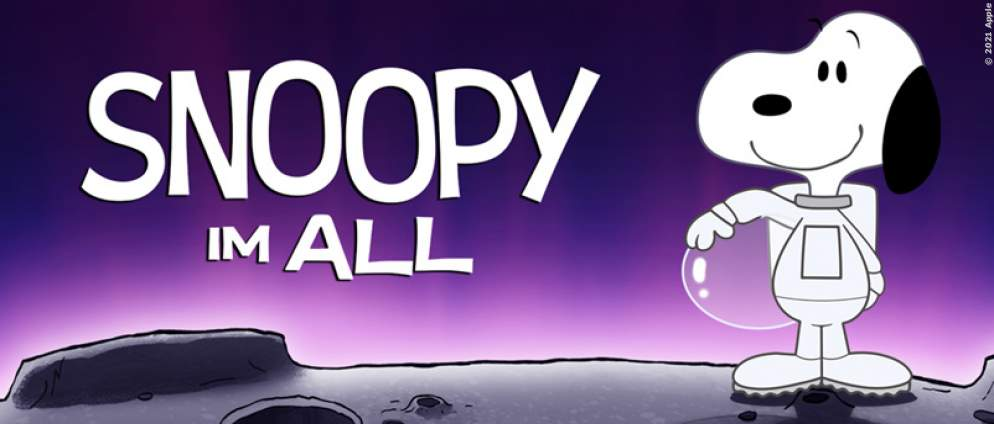 Snoopy im All