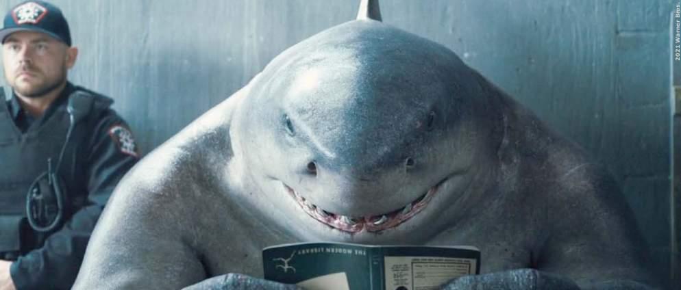 """Vorgestellt: King Shark ist der heimliche Star in """"The Suicide Squad"""""""