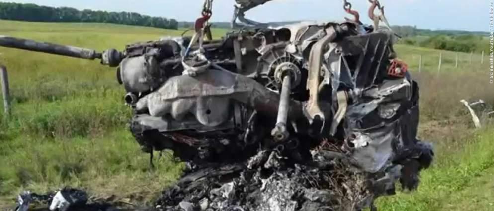 Abschreckungsvideo: Lamborghini-Crash mit 300 KmH