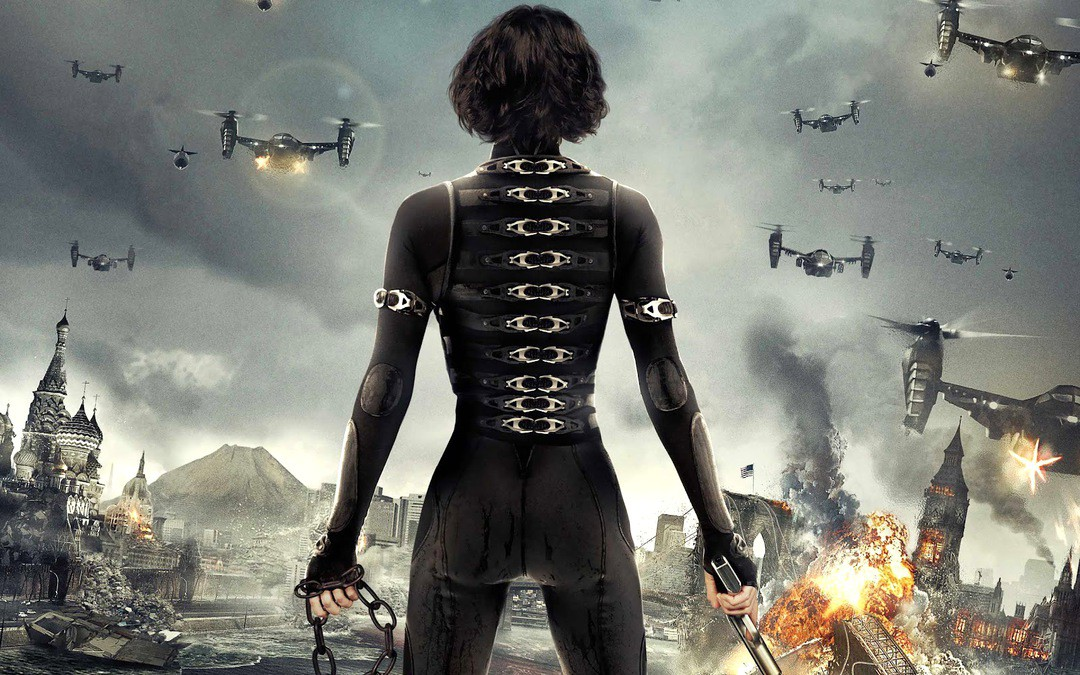 Ruby Rose Resident Evil The Final Chapter Wallpaper 11863: Resident Evil 6: Neue TV Trailer Zum Final Chapter
