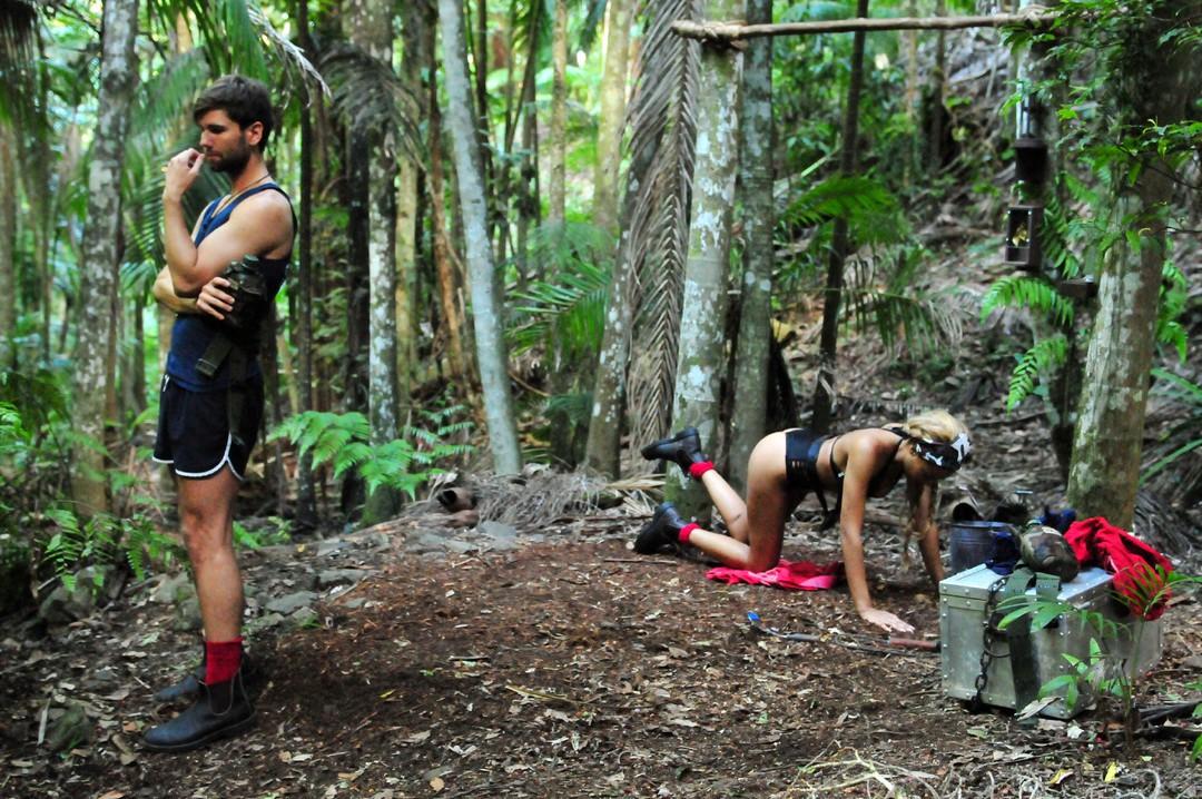 Dschungelcamp 2017 - Tag 5 - Schlangebiss bei Kader Loth - Bild 32 von 49