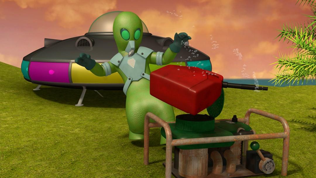 Feuerwehrmann Sam - Achtung Außerirdische - Bild 7 von 11