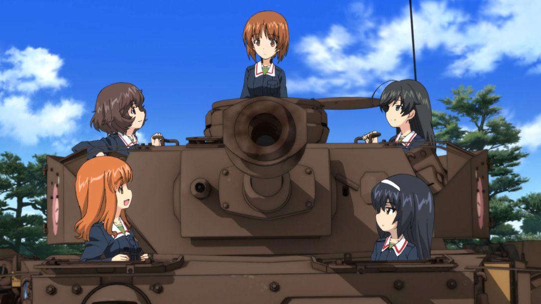 Girls Und Panzer der Film ab März auf Blu-ray und DVD - Bild 2 von 4