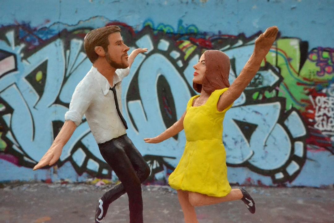 La La Land: Emma Stone und Ryan Gosling tanzen durch Berlin - Bild 1 von 8