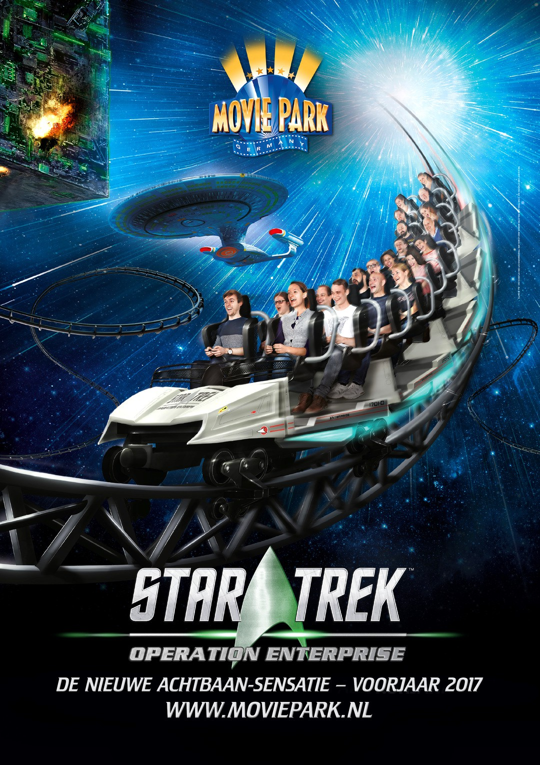 Erste Star Trek Achterbahn wird in Deutschland eröffnet - Bild 1 von 21