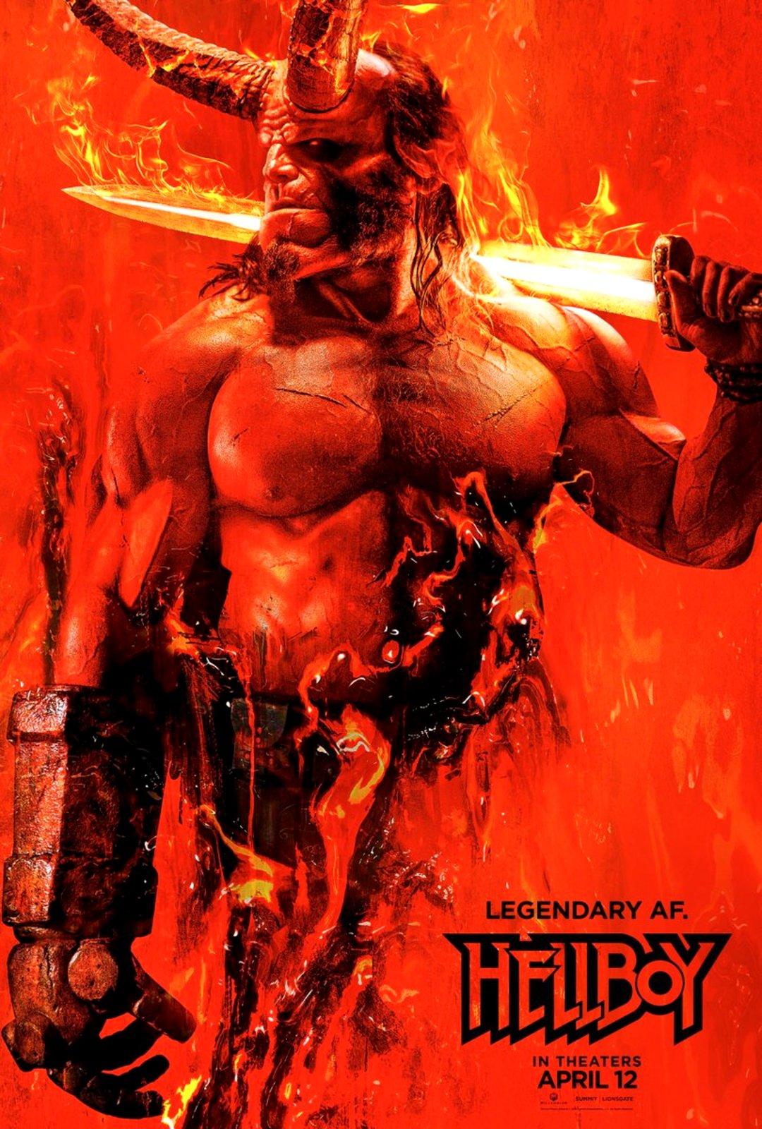 Hellboy: Plakat und erste Eindrücke von der Comic-Con New York - Bild 1 von 2