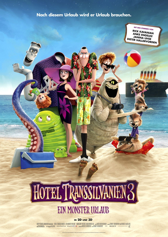 Hotel Transsilvanien 3 Trailer - Ein Monster Urlaub - Bild 1 von 13
