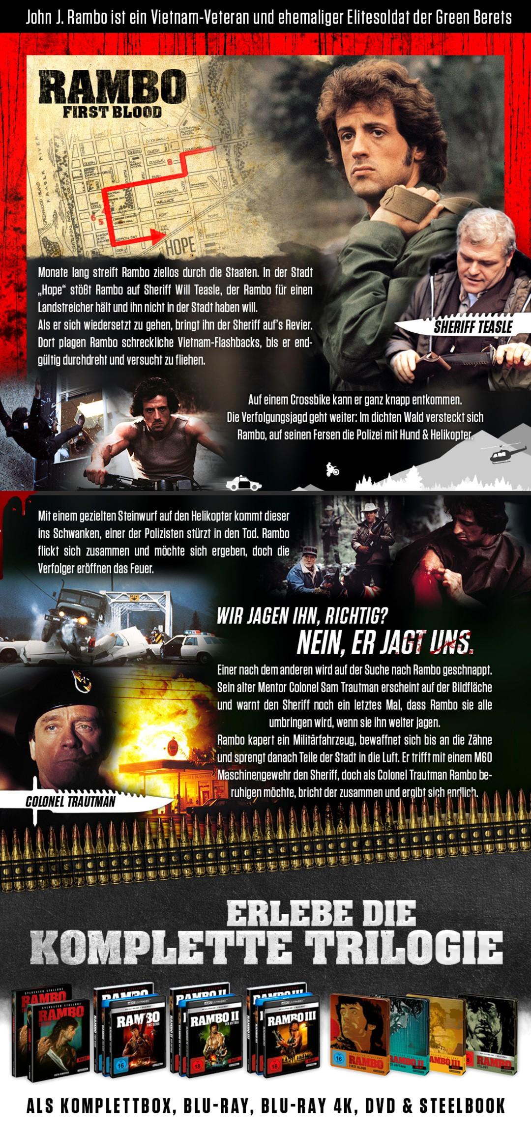 John Rambo: Die Geschichte einer Film-Legende in Bildern - Bild 1 von 5