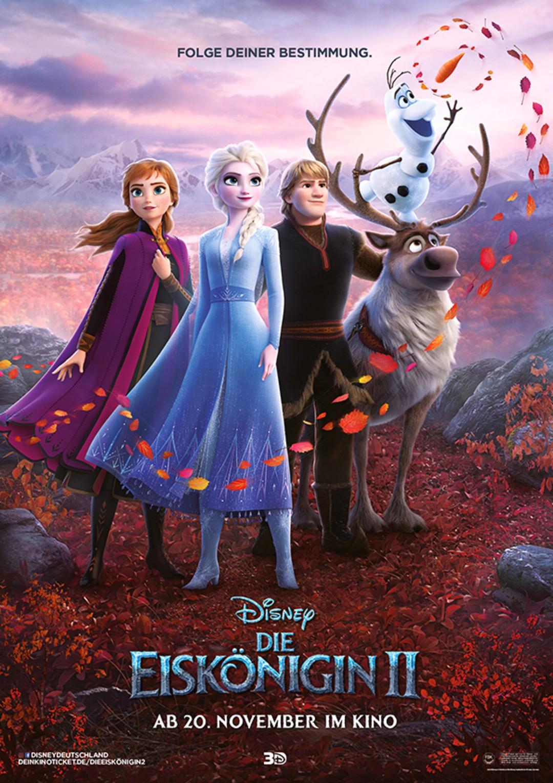 Die Eiskönigin 2: Lustiger Clip mit Olaf und neue Character-Poster - Bild 1 von 14