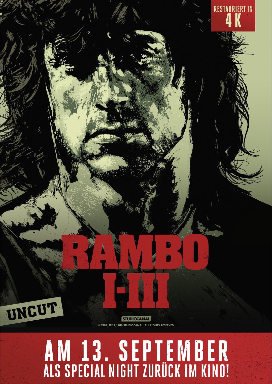 Rambo 1-3 kommen noch einmal ins Kino - vor Rambo 5 - Bild 1 von 1