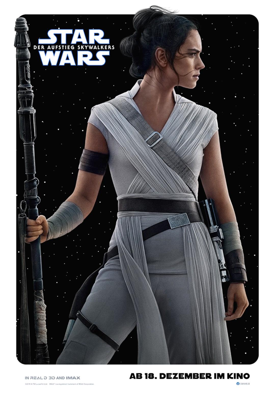 Star Wars 9: Neue Charakter-Poster - Bild 1 von 13