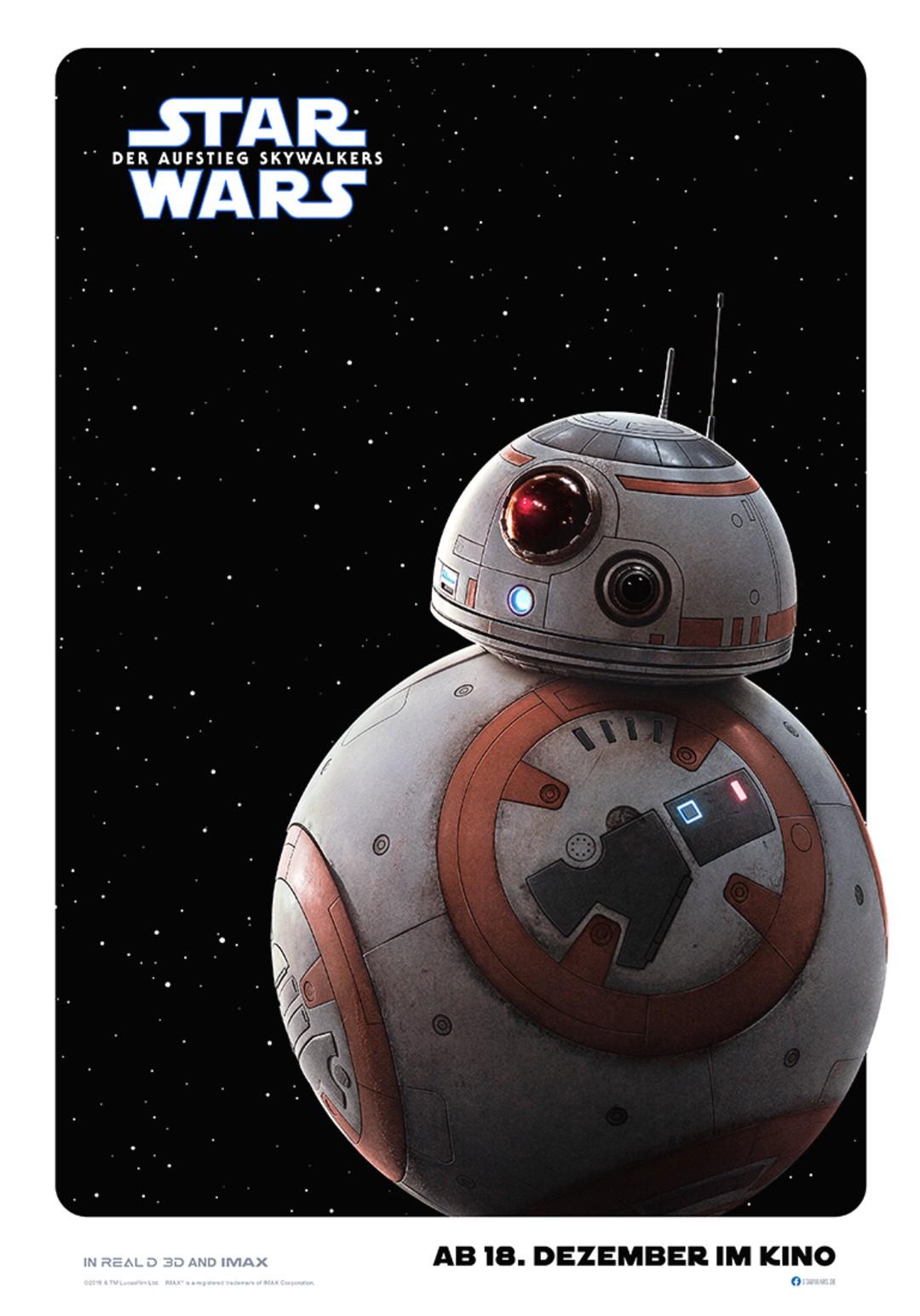Star Wars 9: Neue Charakter-Poster - Bild 2 von 13