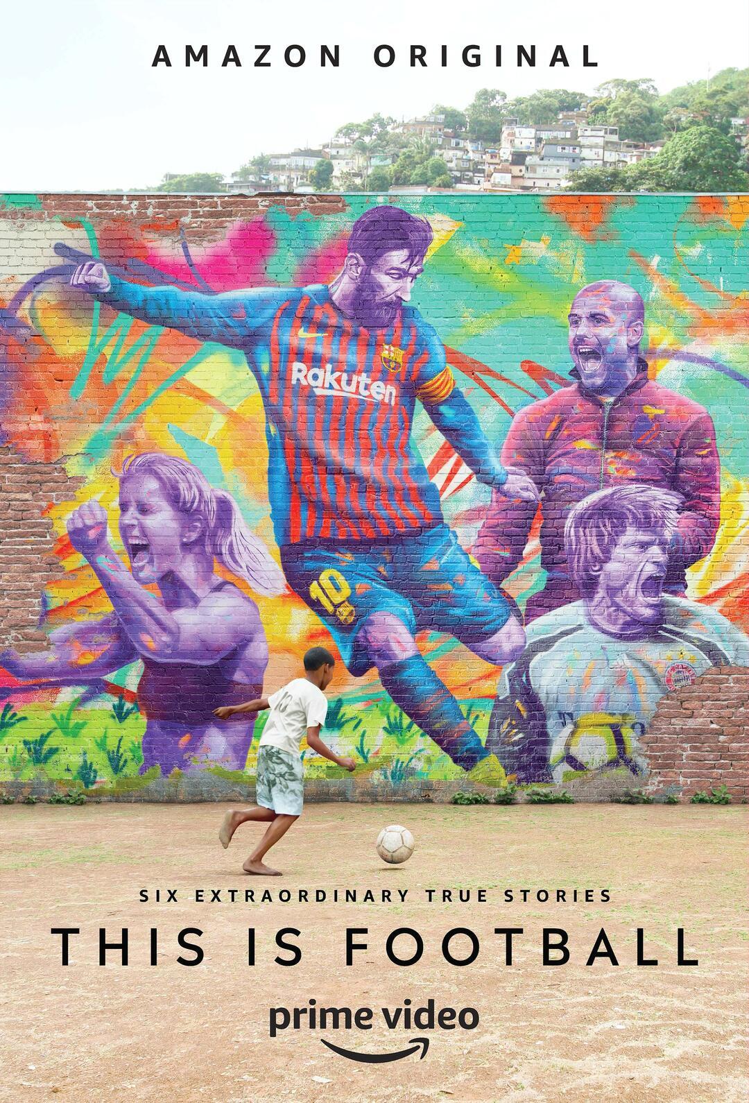 Doku-Serie This Is Football startet am 2. August exklusiv bei Amazon - Bild 1 von 1